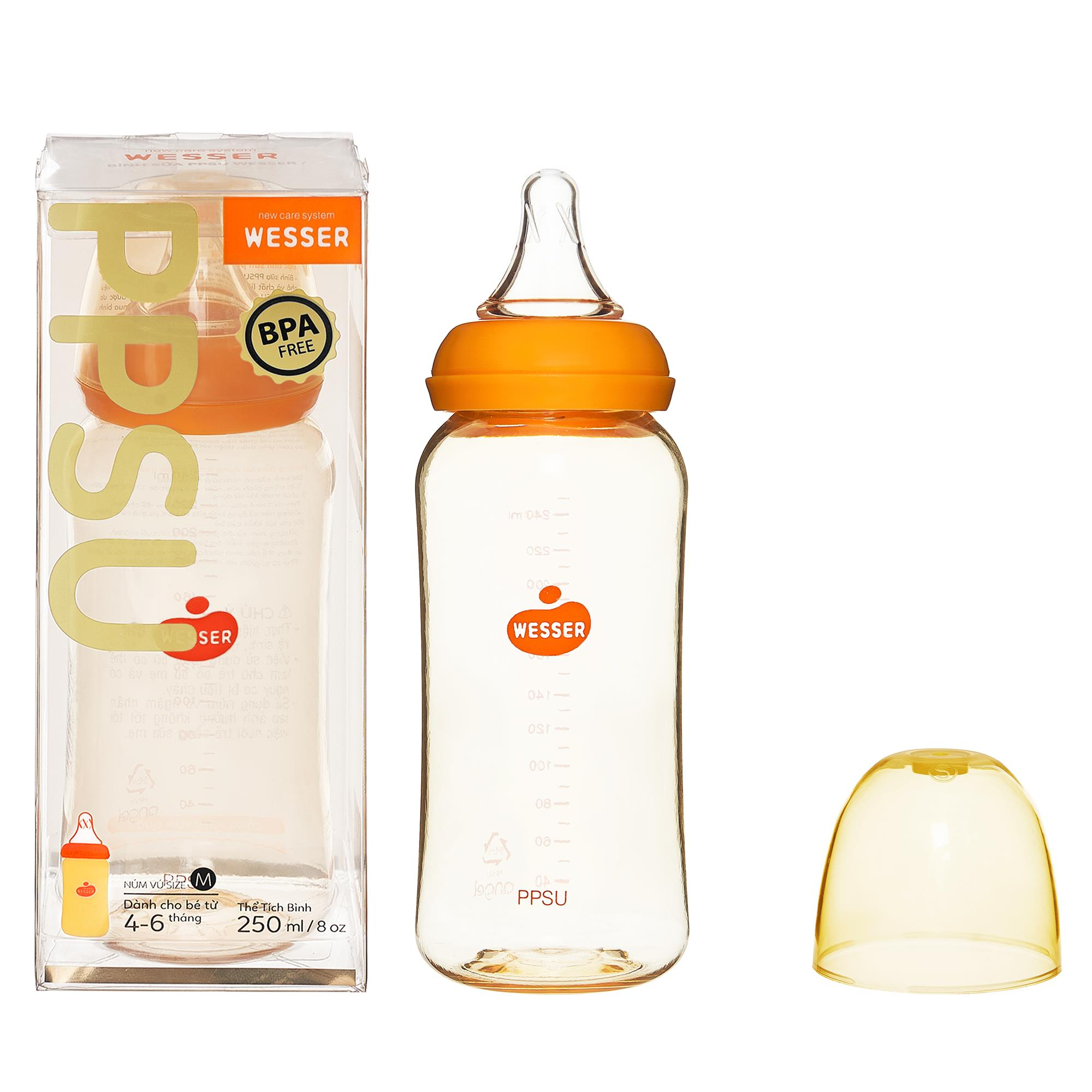 Wesser PPSU Feeding Bottle 250ml