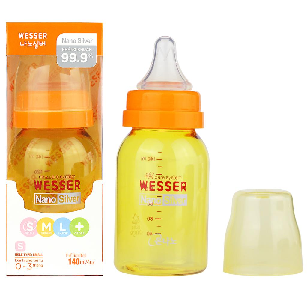 Wesser Feeding Bottle 140ml