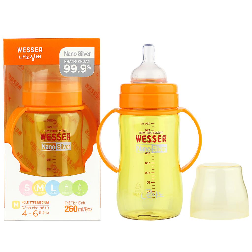 Wesser Feeding Bottle 260ml
