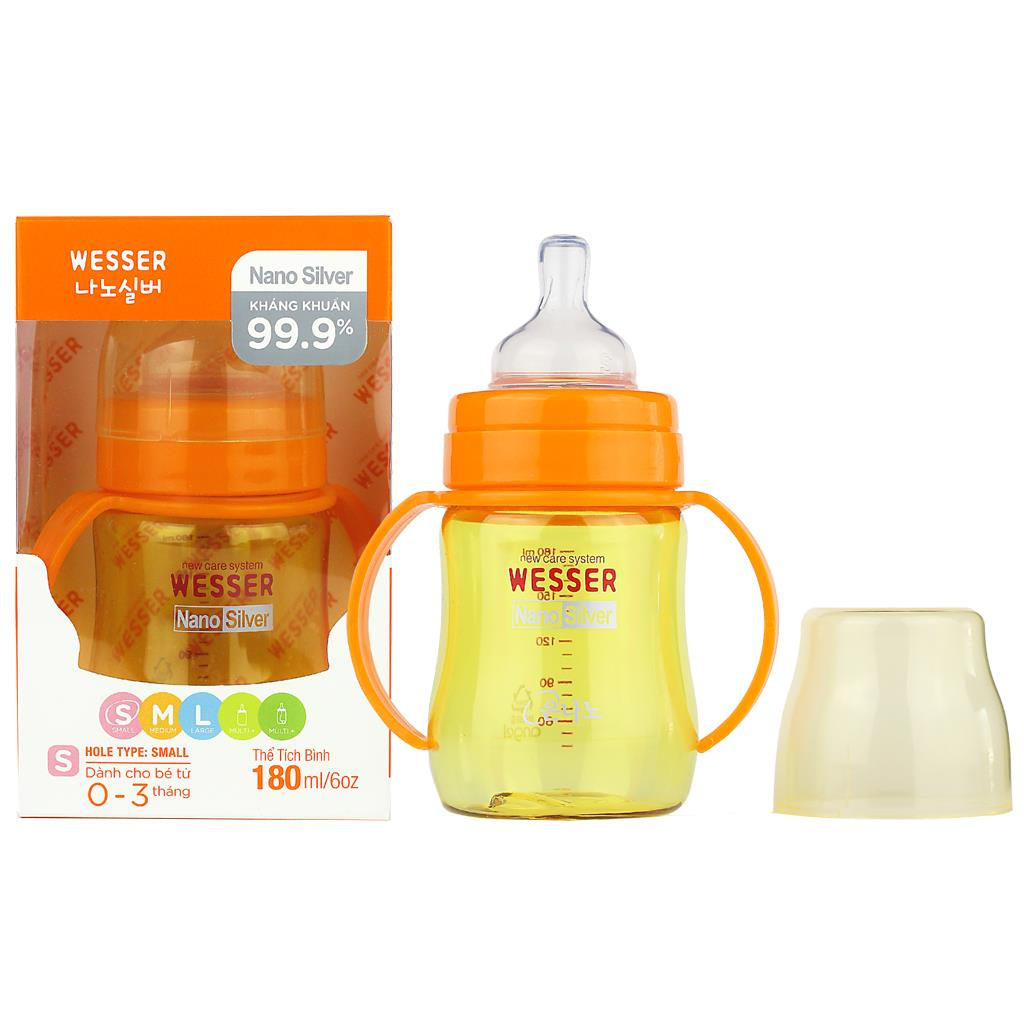 Wesser Feeding Bottle 180ml