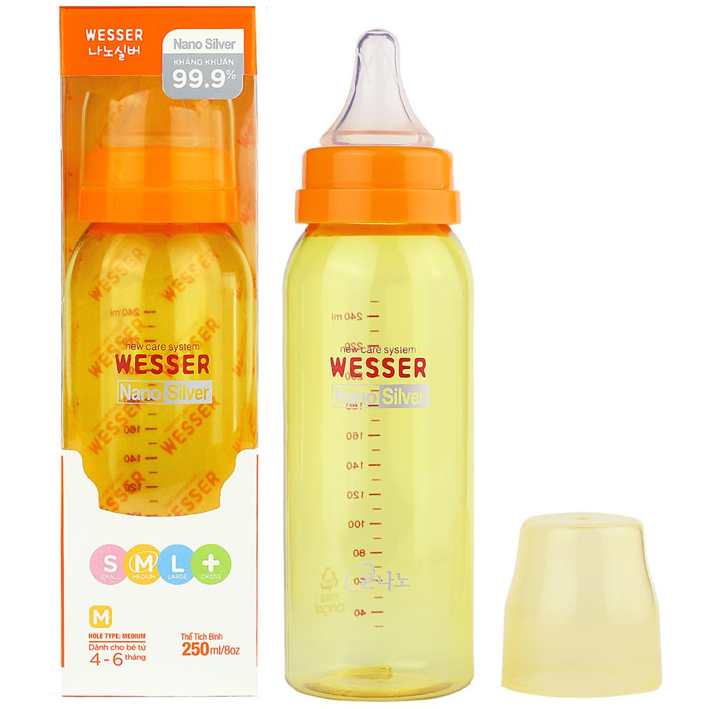 Wesser Feeding Bottle 250ml
